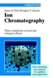 Ion Chromatography, 3rd, Completely Revised and Enlarged Edition (3527613250) cover image