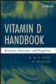 Vitamin D Handbook: Structures, Synonyms, and Properties (0470238151) cover image