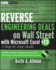 Reverse Engineering Deals on Wall Street with Microsoft Excel: A Step-by-Step Guide (0470242051) cover image