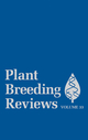 Plant Breeding Reviews, Volume 33 (0470525851) cover image