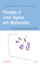 Principles of Linear Algebra with Mathematica (0470637951) cover image