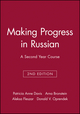 Making Progress in Russian: A Second Year Course, Workbook, 2nd Edition (0471141151) cover image