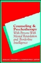 Counseling and Psychotherapy with Persons with Mental Retardation and Borderline Intelligence (0471162051) cover image