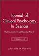 Journal of Clinical Psychology, Volume 58, In Session: Posttraumatic Stress Disorder No. 8 (0471453951) cover image