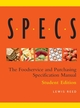 Specs: The Foodservice and Purchasing Specification Manual, Student Edition