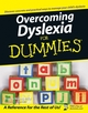 Overcoming Dyslexia For Dummies (0471752851) cover image