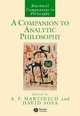 A Companion to Analytic Philosophy (0631214151) cover image
