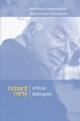 Richard Rorty: Critical Dialogues (0745621651) cover image