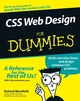 CSS Web Design For Dummies (0764584251) cover image