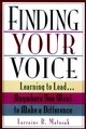 Finding Your Voice: Learning to Lead . . . Anywhere You Want to Make a Difference (0787903051) cover image