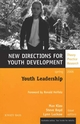 Youth Leadership: New Directions for Youth Development, Number 109 (0787986151) cover image