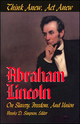 Think Anew, Act Anew: Abraham Lincoln on Slavery, Freedom, and Union (0882959751) cover image