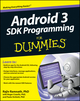 Android 3 SDK Programming For Dummies (1118008251) cover image
