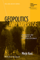 Geopolitics and Expertise: Knowledge and Authority in European Diplomacy (1118291751) cover image