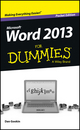 Word 2013 For Dummies, Pocket Edition (1118560051) cover image