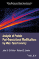 Analysis of Post-Translational Modifications Using Mass Spectrometry (1119045851) cover image
