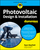 Photovoltaic Design and Installation For Dummies (1119544351) cover image