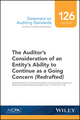 Statement on Auditing Standards, Number 126: The Auditor's Consideration of an Entity's Ability to Continue as a Going Concern (1937351351) cover image