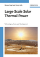 Large-Scale Solar Thermal Power: Technologies, Costs and Development (3527405151) cover image