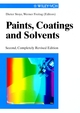 Paints, Coatings and Solvents, 2nd Edition (3527611851) cover image
