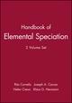 Handbook of Elemental Speciation, 2 Volume Set