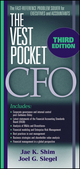 The Vest Pocket CFO, 3rd Edition (0470227052) cover image