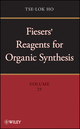 Fiesers' Reagents for Organic Synthesis, Volume 25 (0470433752) cover image