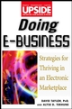 Doing E-Business: Strategies for Thriving in an Electronic Marketplace (0471380652) cover image