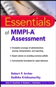 Essentials of MMPI-A Assessment (0471398152) cover image
