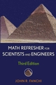 Math Refresher for Scientists and Engineers, 3rd Edition (0471757152) cover image