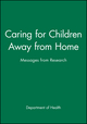 Caring for Children Away from Home: Messages from Research (0471984752) cover image