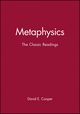 Metaphysics: The Classic Readings (0631213252) cover image