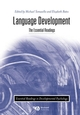 Language Development: The Essential Readings (0631217452) cover image