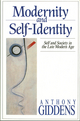 Modernity and Self-Identity: Self and Society in the Late Modern Age (0745698352) cover image
