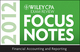 Wiley CPA Exam Review Focus Notes 2012, Financial Accounting and Reporting (1118233352) cover image