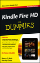 Kindle Fire HD For Dummies, Portable Edition (1118547152) cover image