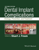 Dental Implant Complications: Etiology, Prevention, and Treatment, 2nd Edition (1118976452) cover image