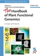 The Handbook of Plant Functional Genomics: Concepts and Protocols (3527318852) cover image