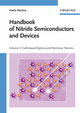Handbook of Nitride Semiconductors and Devices, Volume 3, GaN-based Optical and Electronic Devices (3527628452) cover image