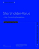 Shareholder Value: Eine Controlling-Perspektive (3527666052) cover image