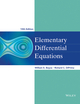 Elementary Differential Equations, 10th Edition (EHEP002452) cover image