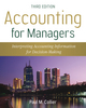 Accounting For Managers: Interpreting Accounting Information for Decision-Making, 3rd Edition (EUDTE00252) cover image