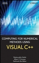 Computing for Numerical Methods Using Visual C++ (0470127953) cover image