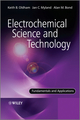 Electrochemical Science and Technology: Fundamentals and Applications (0470710853) cover image