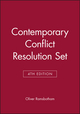 Contemporary Conflict Resolution, 4e Set (0745687253) cover image