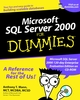 Microsoft SQL Server 2000 For Dummies (0764507753) cover image