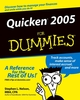 Quicken 2005 For Dummies (0764578553) cover image