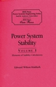 Power System Stability, Volumes I, II, III, 3 Volume Set, An IEEE Press Classic Reissue (0780311353) cover image