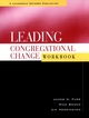 Leading Congregational Change Workbook (0787948853) cover image