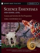 Science Essentials, High School Level: Lessons and Activities for Test Preparation (0787975753) cover image
